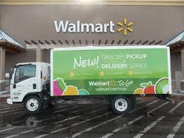 walmart omnichannel truck