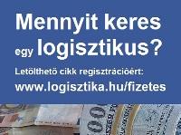 Mennyit keres egy logisztikus?