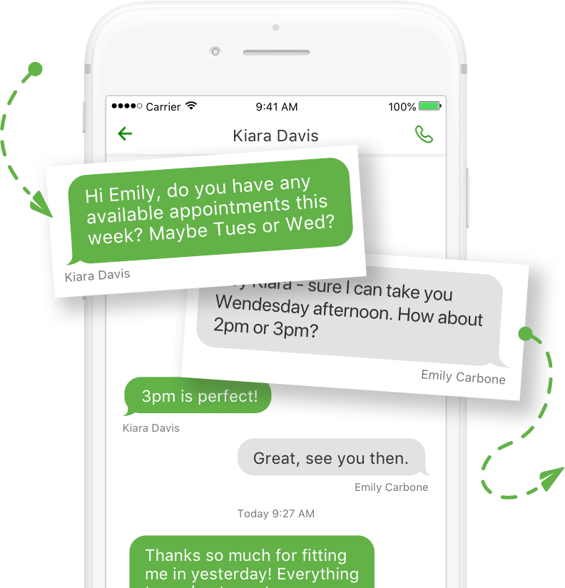 Grasshopper Review: business-texting