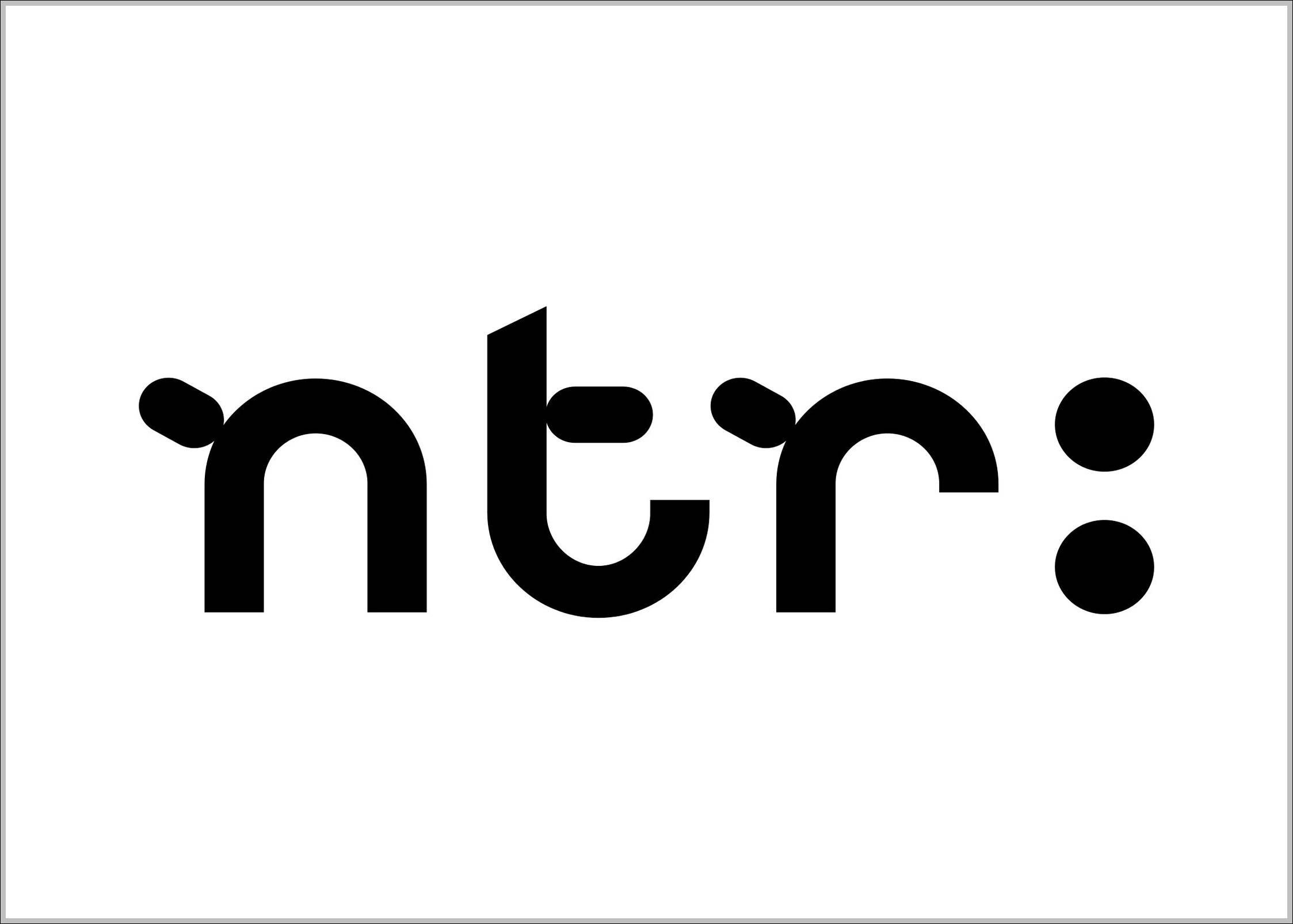 Ntr Brand Logo Sign