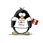 I love Peru penguin