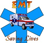 EMT Saving Lives T-Shirts & Gift Ideas!