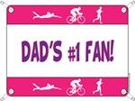 Dad's #1 Fan - Tri