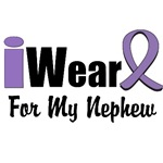 I Wear Violet Ribbon For My Nephew