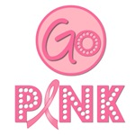 Go Pink For Breast Cancer T-Shirts & Gifts
