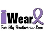 I Wear Violet Ribbon For My Brother-in-Law