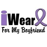 I Wear Violet Ribbon For My Boyfriend