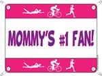 Mommy's #1 Fan - Tri
