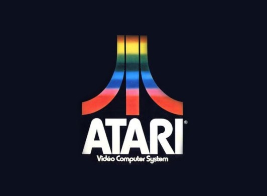 Brief Atari Brand History   Logoblink com The designer George Opperman was responsible for the creation of the  graphic identity of the brand  projecting the logo in 1972  know today as  the Atari
