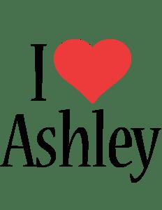 Ashley Logo Name Logo Generator I Love Love Heart