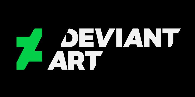 Новый логотип DeviantArt