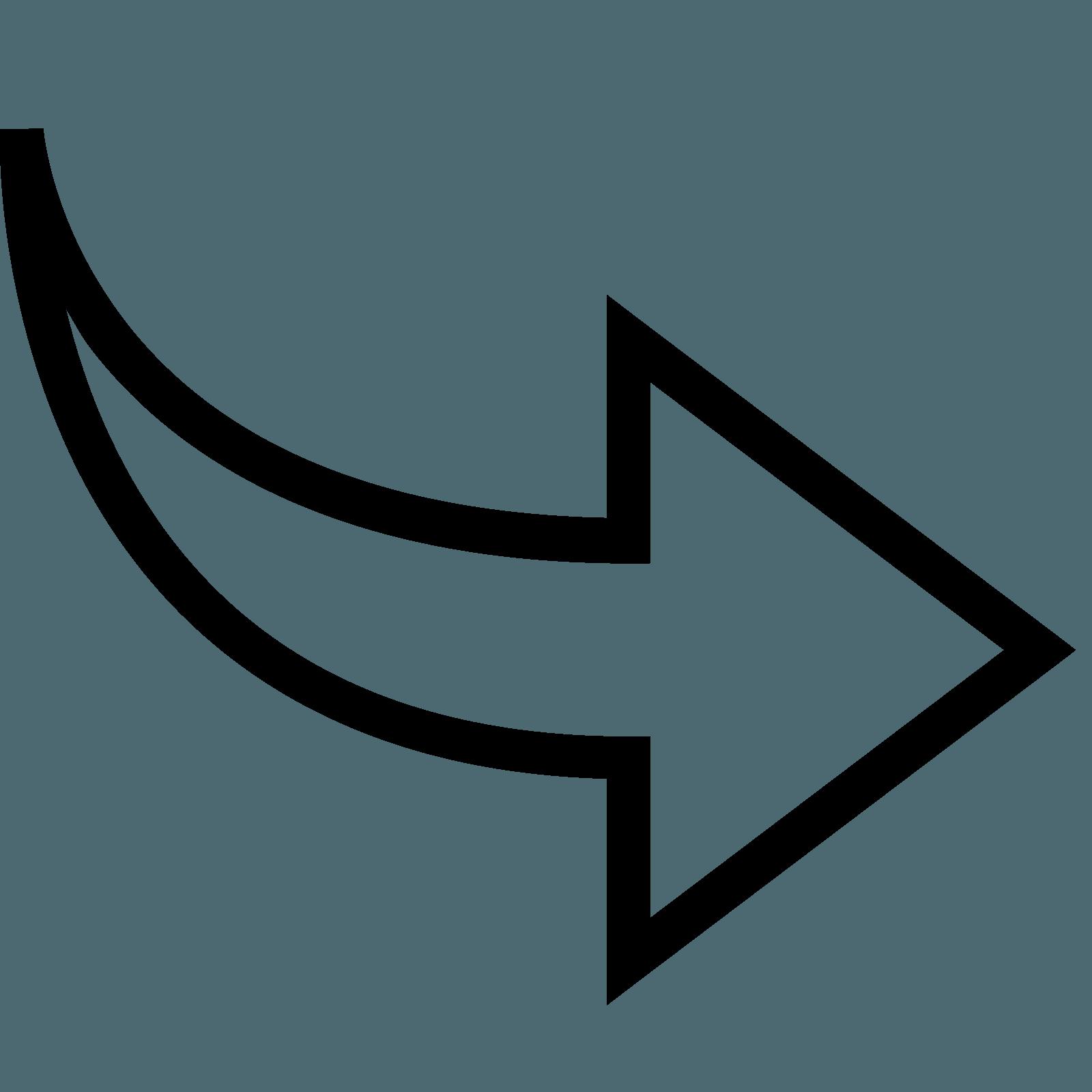 Curved Arrow Logo