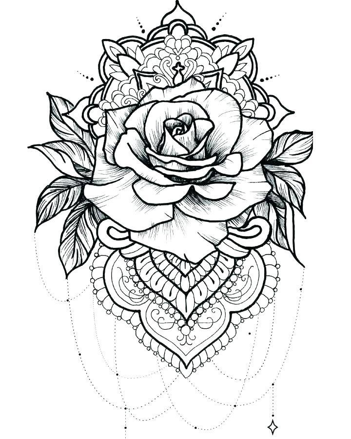 Guns And Roses Coloring Pages Logo Logodix