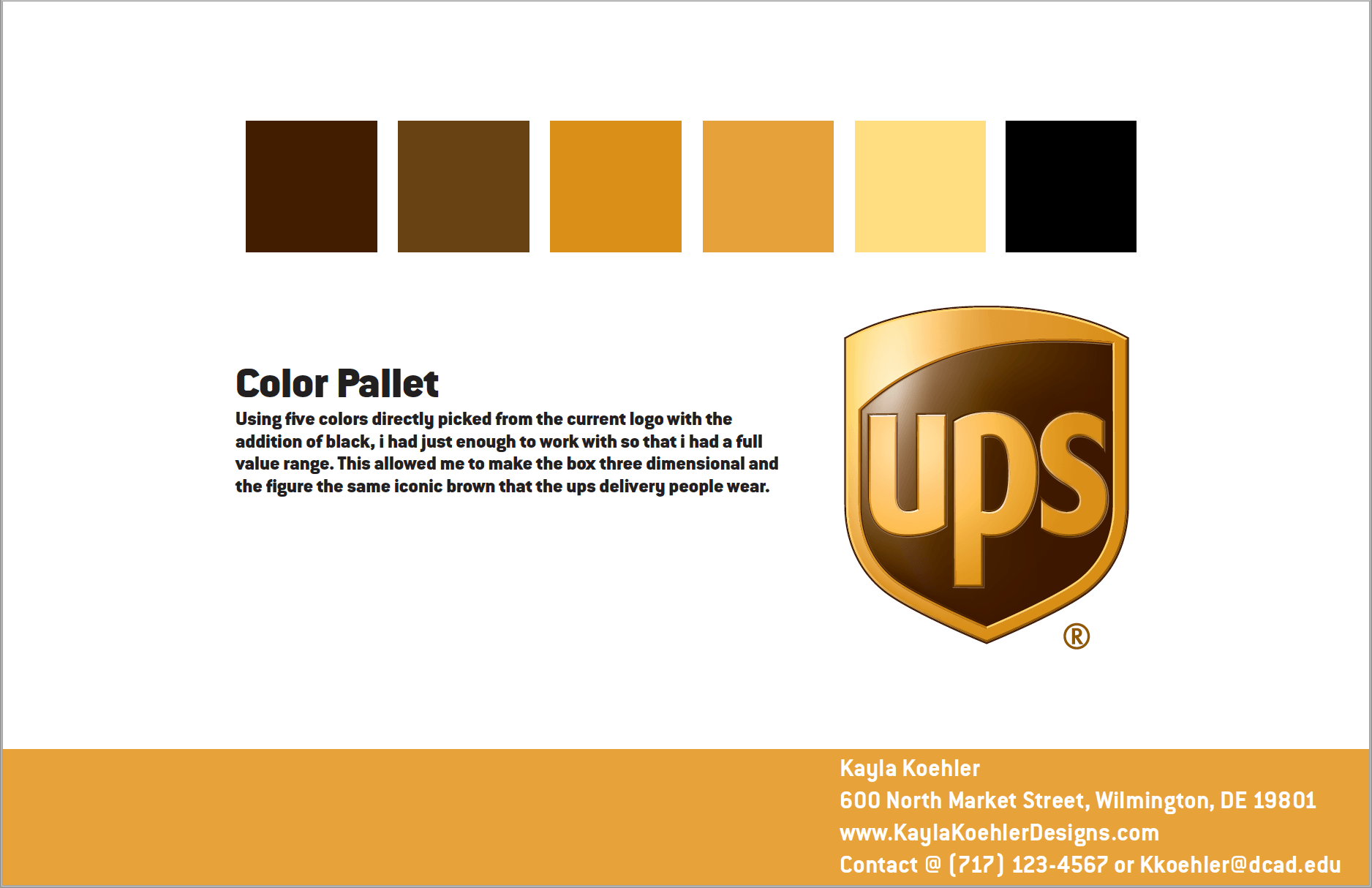 ᐈ ups logo how to change while staying