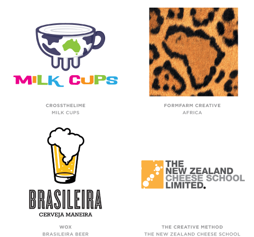 Geography trend logo examples