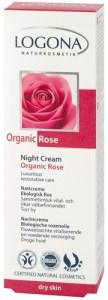 Κρέμα νύχτας με άγριο τριαντάφυλλο BIO (θεραπεία αναγέννησης & ενυδάτωσης)