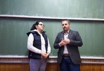Alături de colega noastră, Adriana Ştiube