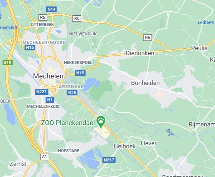 regio's huisbezoek logopedie: Muizen, Mechelen, Zemst, Bonheiden, Hever, Rijmenam, Hofstade, Sint-Katelijne-Waver