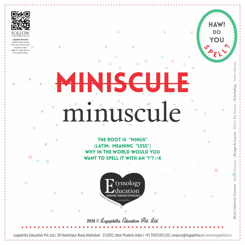 misniscule