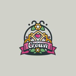 The best free Crown logo template for your brand.