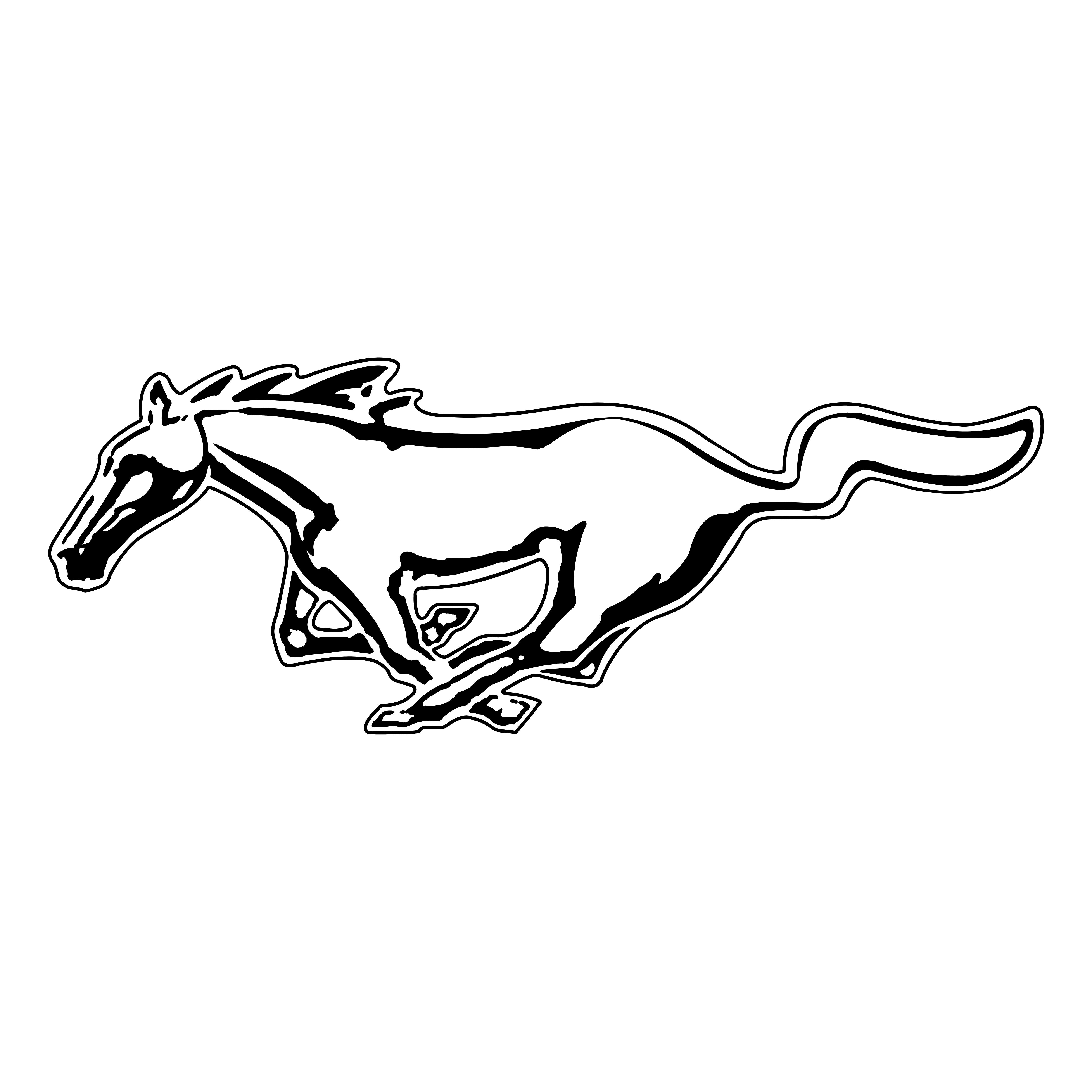 Mustang Logos Download