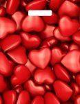 Купить оптом полиэтиленовый пакет Сердечки с прорубной (вырубной) ручкой от Тико