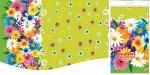 Купить оптом полиэтиленовую скатерть для пикника Цветочная поляна 120х220 от Интерпак