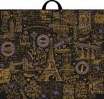Купить оптом полиэтиленовый пакет Европейские каникулы 60x50 с петлевой ручкой от Интерпак