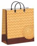 Купить оптом полиэтиленовый пакет Зигзаг 23x27 из мягкого пластика от Интерпак
