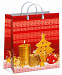Купить оптом полиэтиленовый пакет Сезон подарков 30x40 150 мкм из мягкого пластика