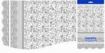Купить оптом полиэтиленовую скатерть для пикника Прозрачное кружево 120x180 от Интерпак