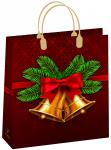 Купить оптом новогодний пакет 23х26 Белло Bello BAS 134