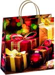 Купить оптом новогодний пакет 23х26 Белло Bello BAS 123