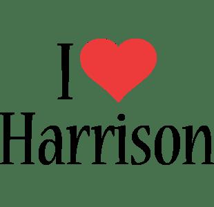 Harrison Logo Name Logo Generator I Love Love Heart