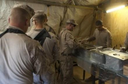 Marine Field Kitchen