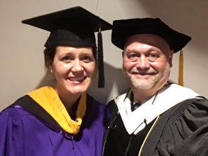 Helio Fred Garcia and Kristin Johnson (r-l)