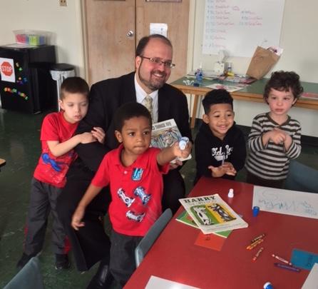 Mayor Visits New City School