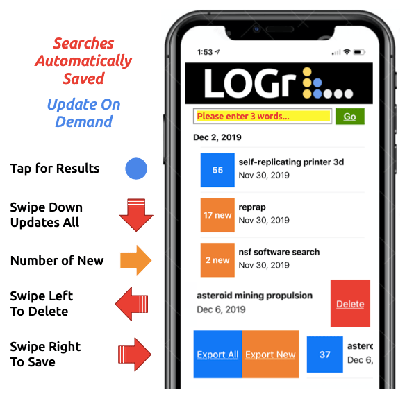 The LOGr Research App