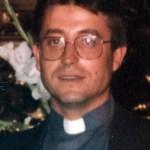 D. Félix Sáenz Solana párroco de Albelda de Iregua