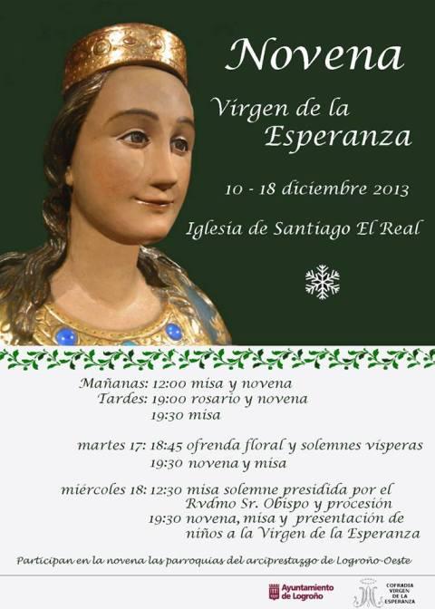 Cartel Virgen de La Esperanza
