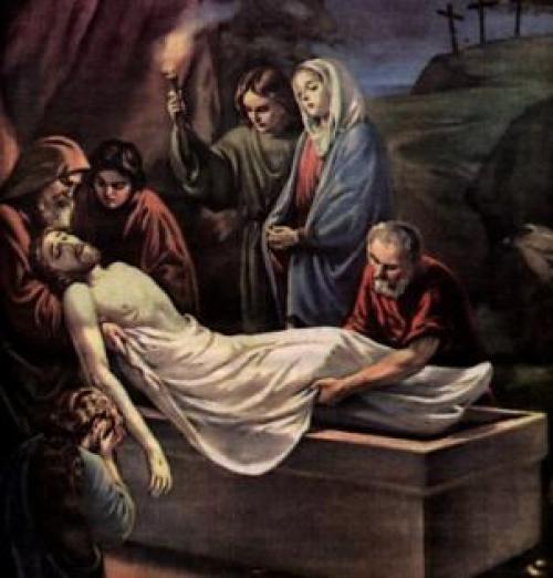 La Sepultura de Jesús de Nazaret. - Logroño Pasión