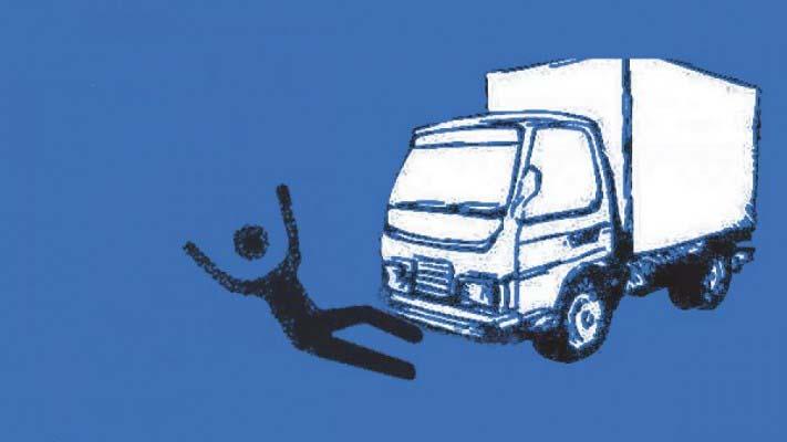 সাতকানিয়ায় কাভার্ড ভ্যানের চাপায় মোটরসাইকেল আরোহী নিহত