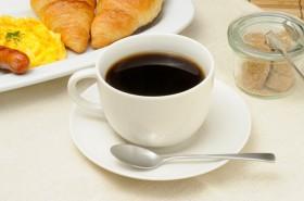 入れ立てのコーヒー。