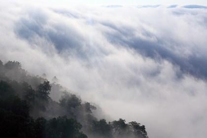 sea of clouds in tomamu resort