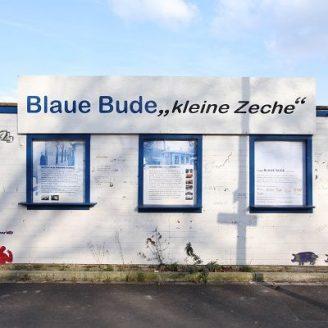 Blaue Bude