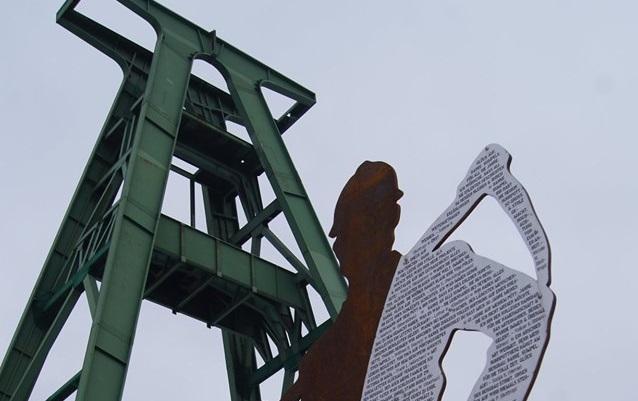 Warum der Bergmann aus Stahl in die Innenstadt gehört