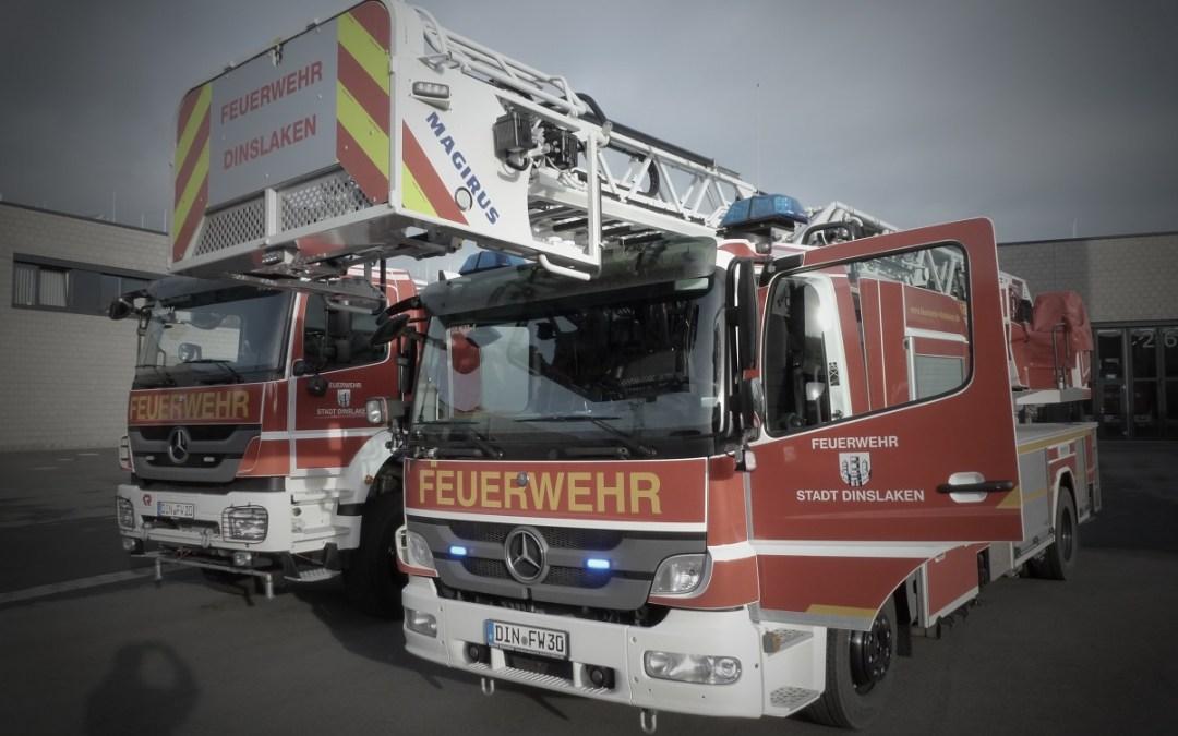 Essen angebrannt: Feuerwehreinsatz auf der Knappenstraße