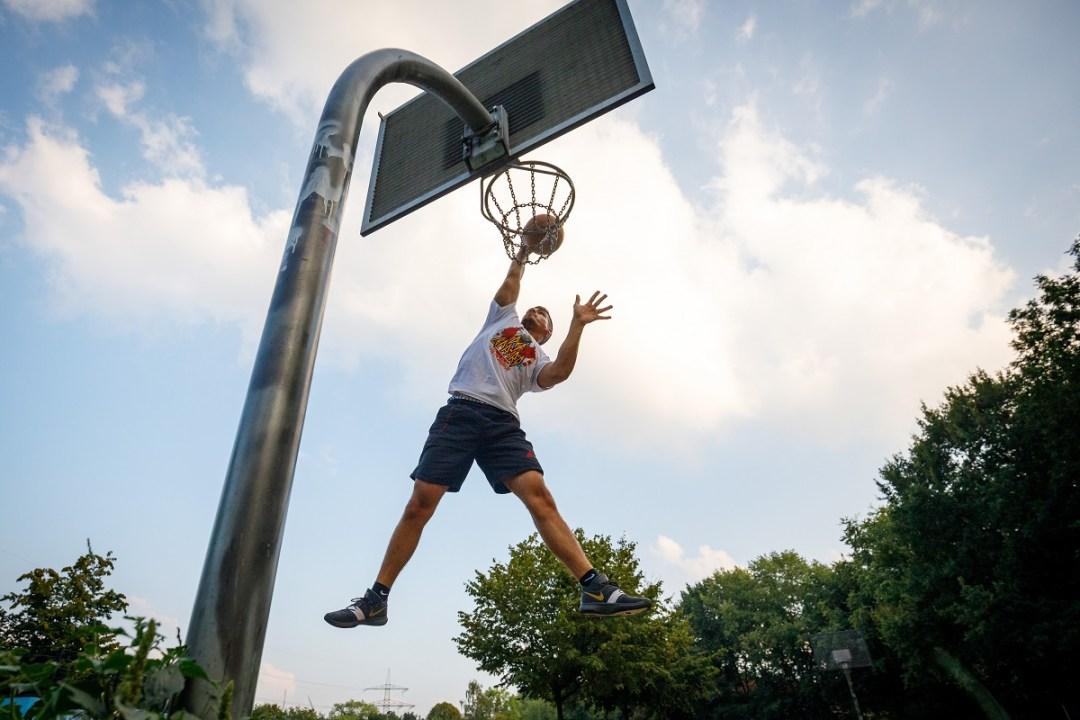 Martin Valk Basketball Freizeitanlage Fotowalk