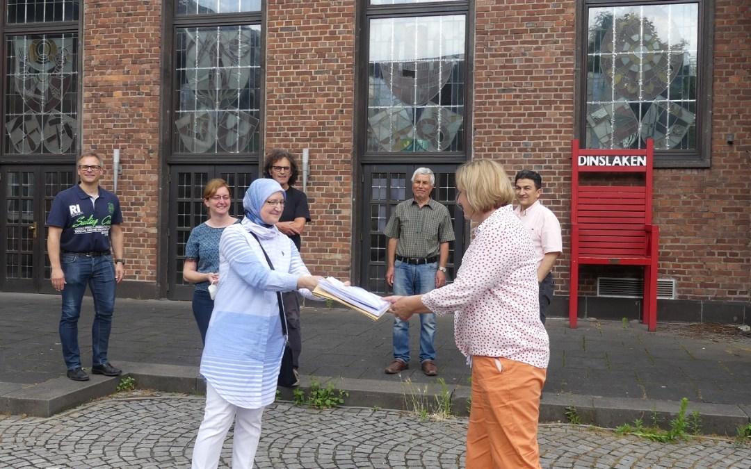 1604 Unterschriften für den Lohberger Markt