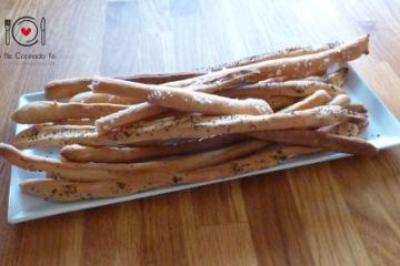 Grisines o Palitos de Pan (Receta Italiana)